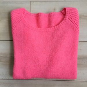 Tops - Pink zipper sweater